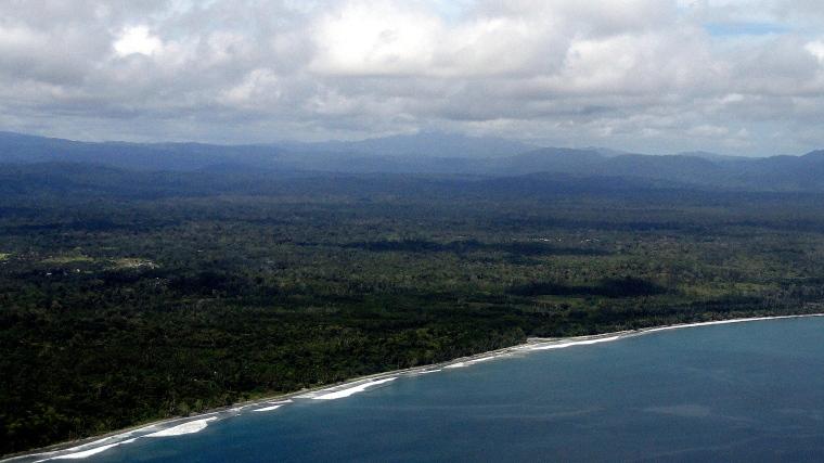 Wewak Coastline