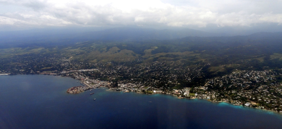 Honiara from the Air