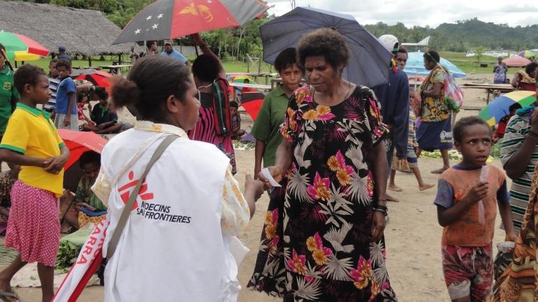 Maprik Market Outreach 3