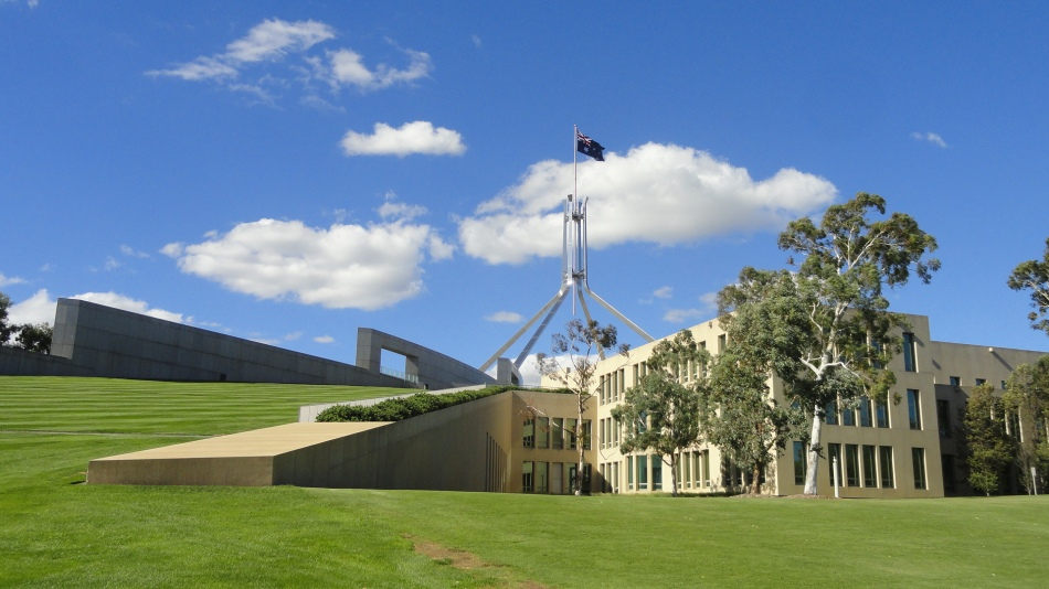 Parlt House Side View