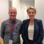 Paul & Australian MP TanyaPlibersek