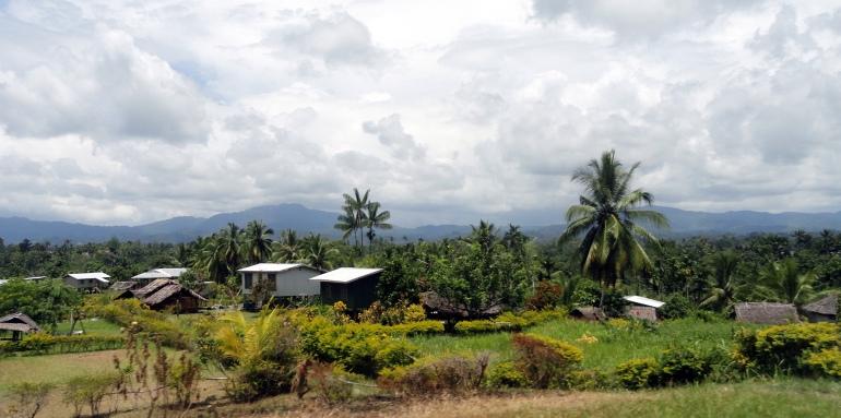 Roadside Houses & Landscape