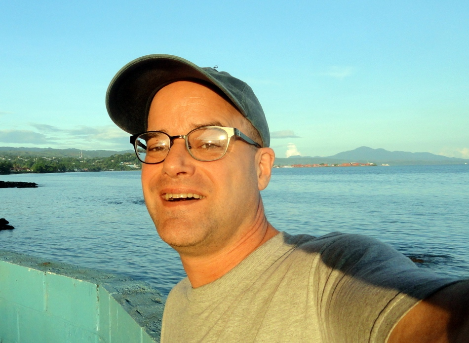 Selfie w Honiara Harbor