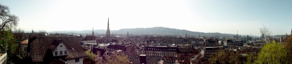 Zurich City Pano