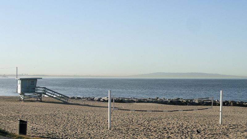 Coast Lifeguard Hut & Beach Volleyball