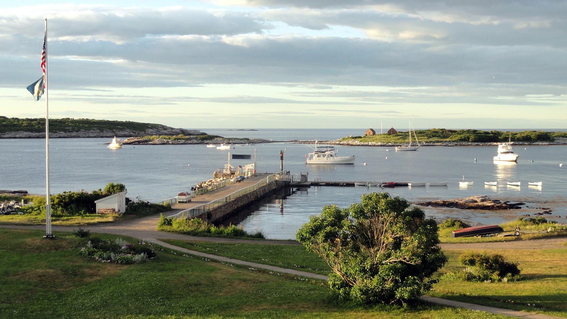 Flagpole - Dock - Harbor - Islands