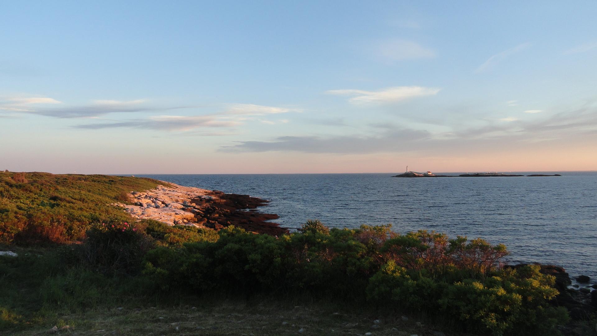 Lighthouse & Coastline