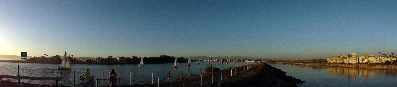 Marina del Rey Sunset Pano