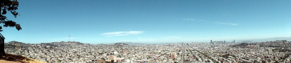 City Pano from Bernal
