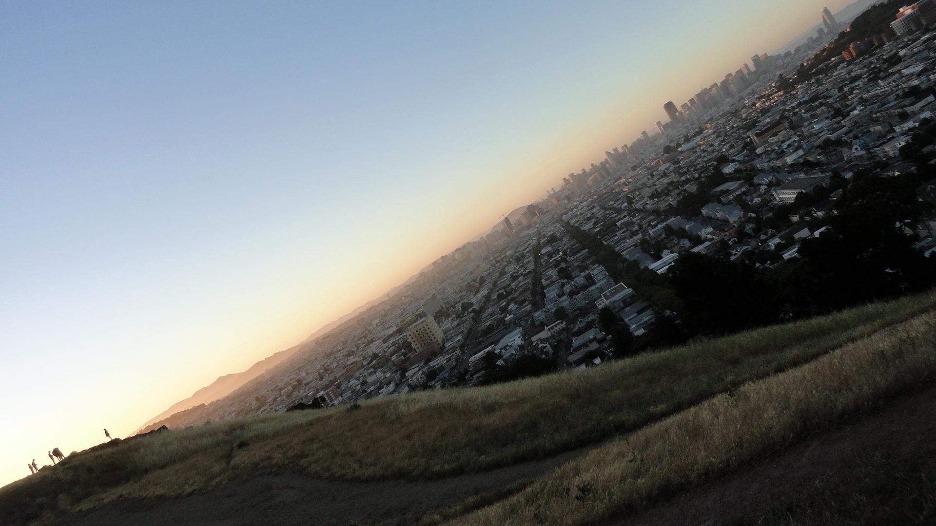 City Sunset from Bernal