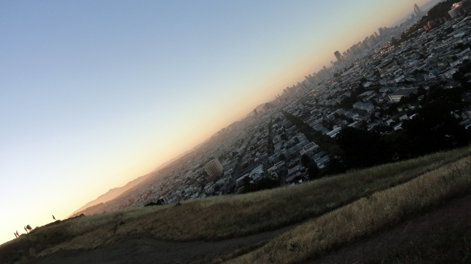 City Sunset from Bernal