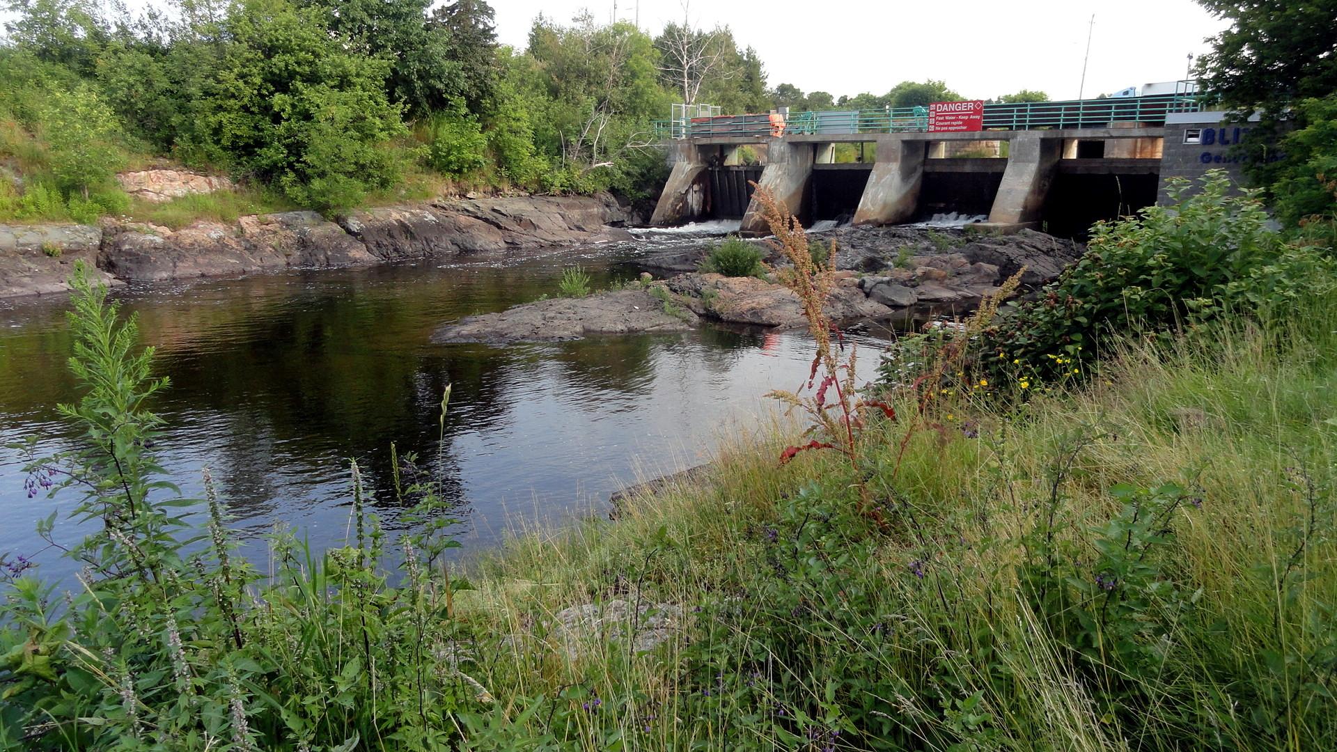 Blind River Mill Dam