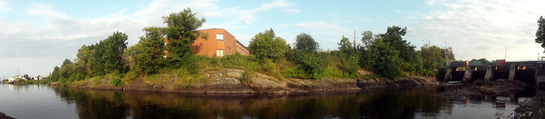 Blind River Panorama