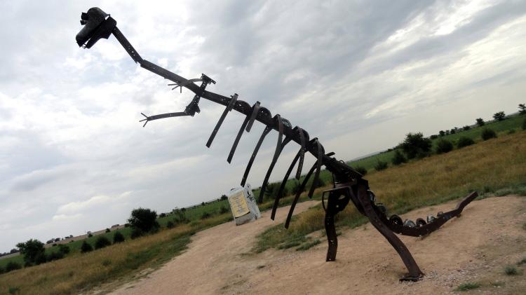 Carhenge Dinosaur