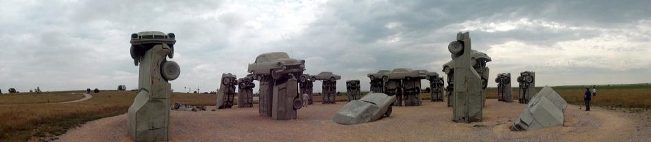 Carhenge Pano