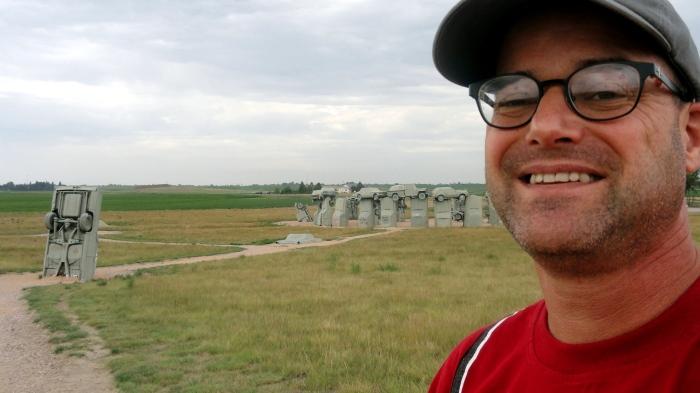 Carhenge Selfie