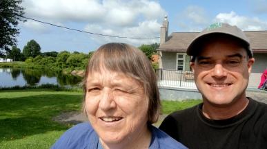 Mom & Paul Shores of Lake Huron