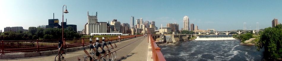 Mpls Stone Arch Pano