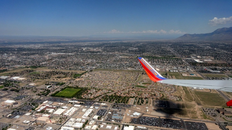 ABQ from the Air