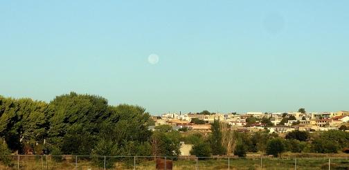 ABQ Moonset