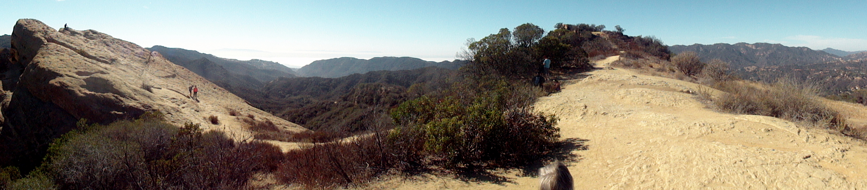 Eagle Rock & Topanga Canyon Pano 1