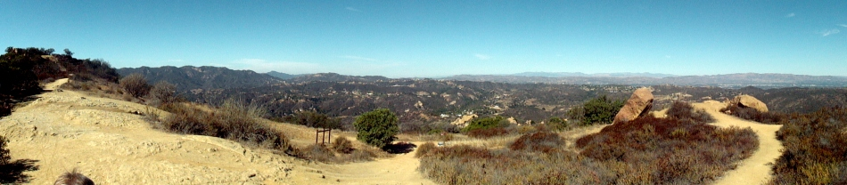 Eagle Rock & Topanga Canyon Pano 2