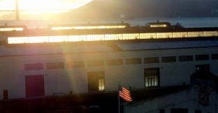 Fort Mason-Bridge-Flag