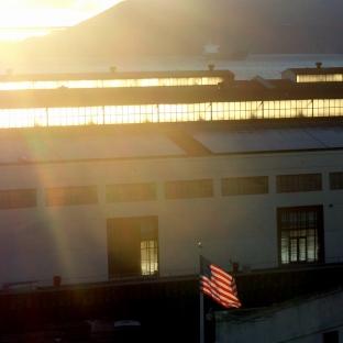 Fort Mason-Bridge-Flag