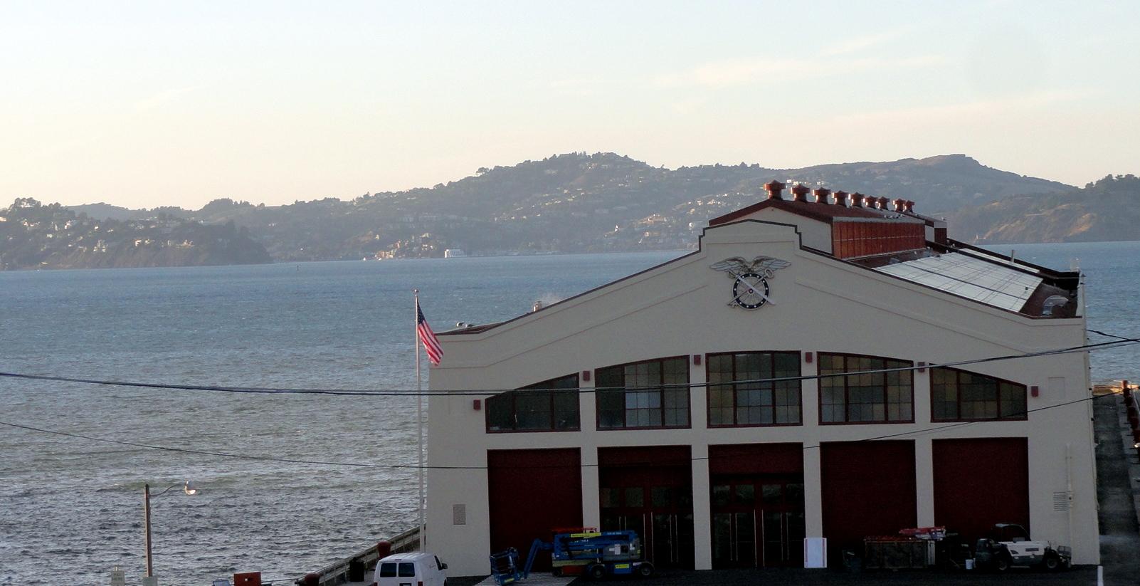 Fort Mason & the Bay