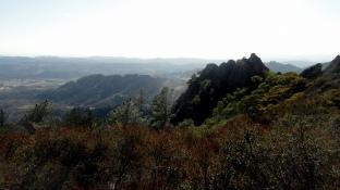 Napa Valley from Palisades Trail 4
