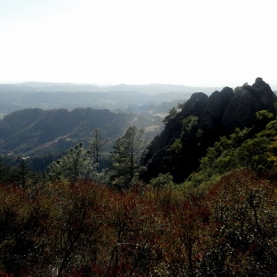 Napa Valley from Palisades Trail 4