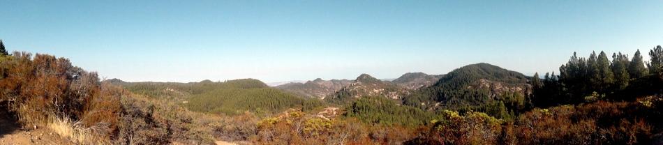 Palisades Trail Pano
