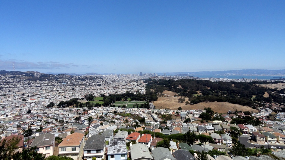 SF & Bay from San Bruno Mtn