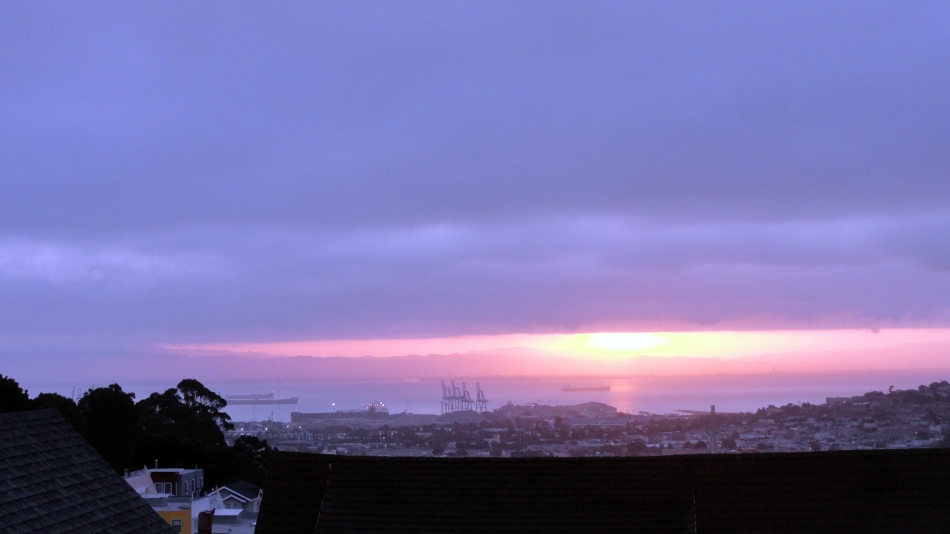 SF Bay Sunrise