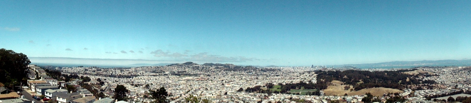 SF Pano from San Bruno Mtn