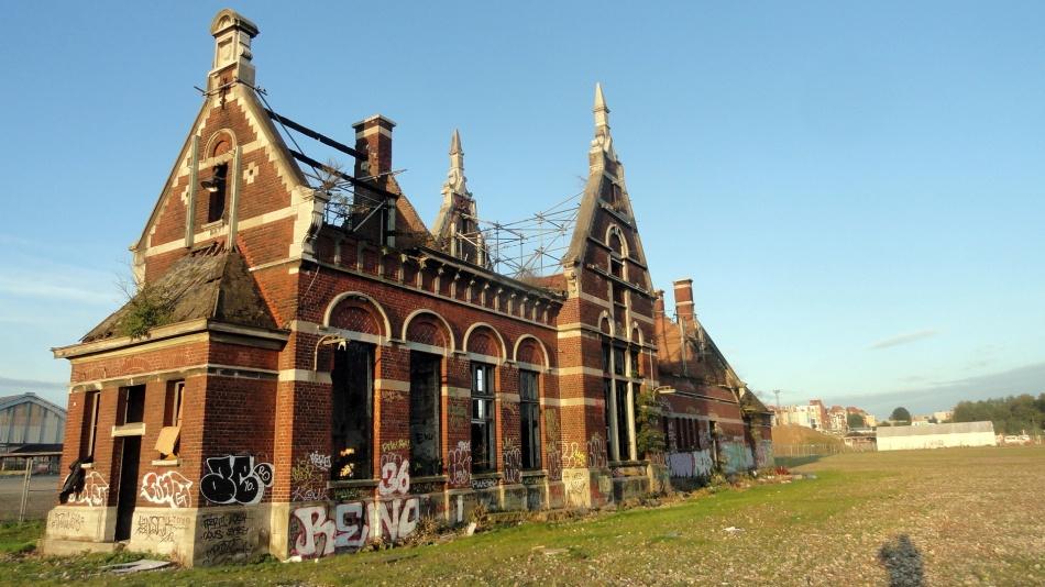 Abandoned Building Brussels Port
