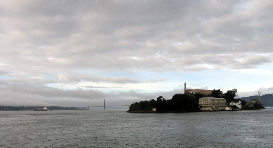 Alcatraz from Water