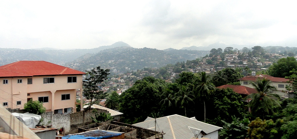 Freetown in its Hills