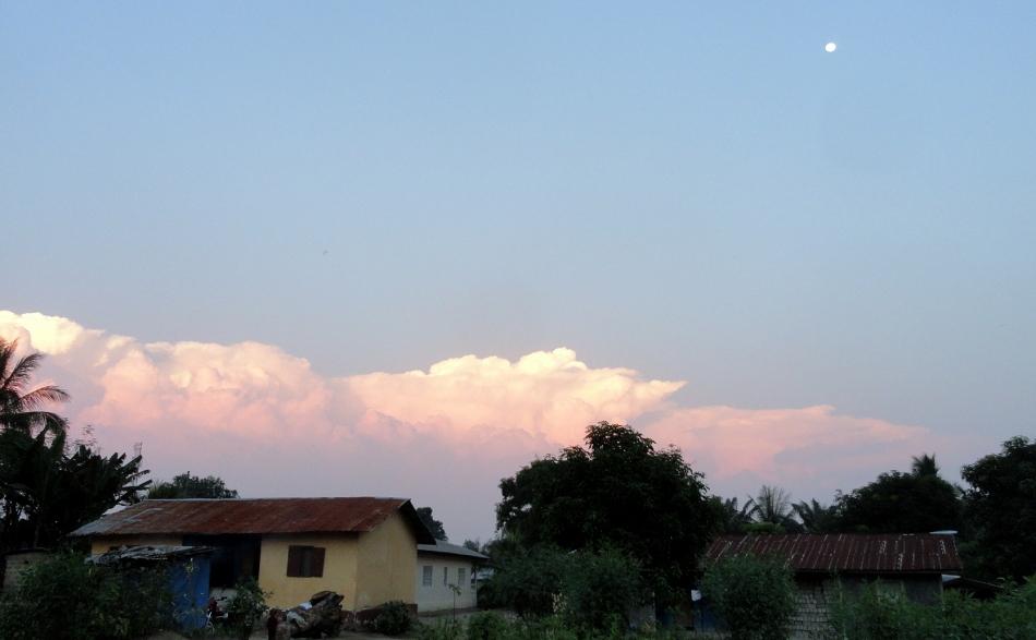 Moonrise & Sunset