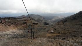 From Ruapehu Lift Going Down