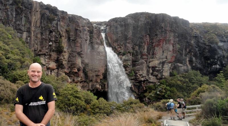Paul 2 Taranaki Falls