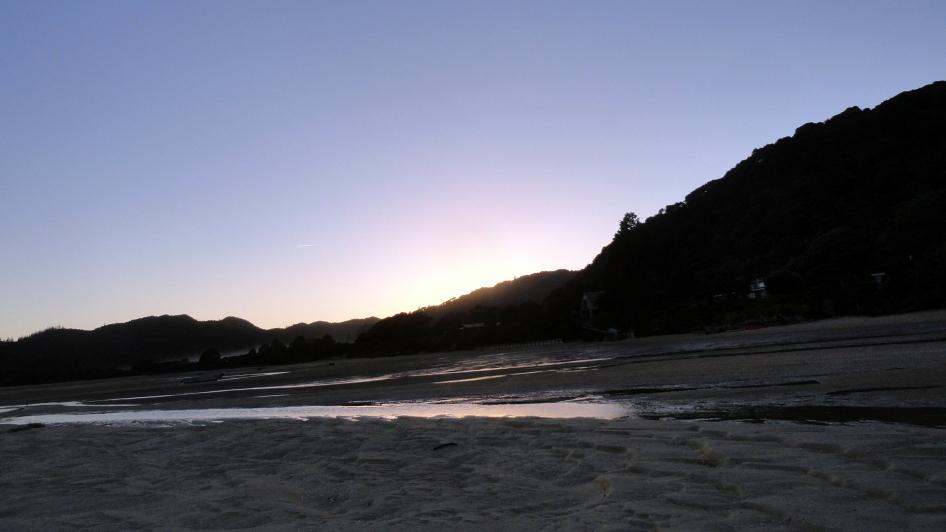 Awaroa Bay Lowtide
