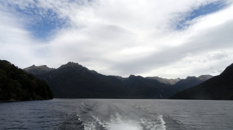 On Lake Te Anau