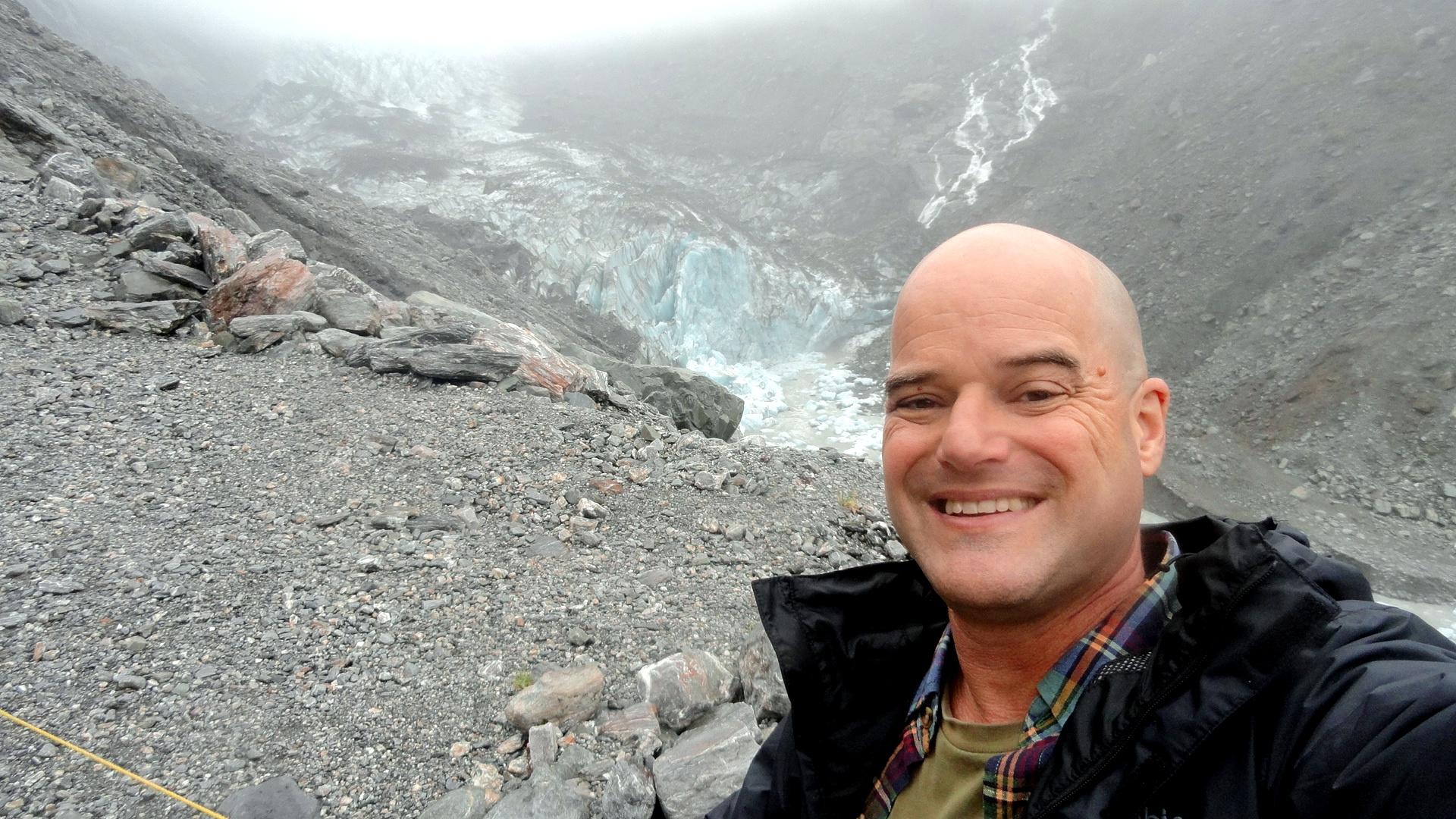 Selfie at Fox Glacier