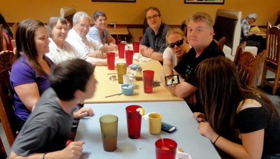 Bill & Family Breakfast ABQ Aug14