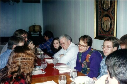 Dinner Billl & Family Chicago April 1996