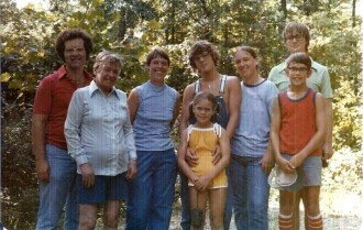 Family Lake Timberline August 1979