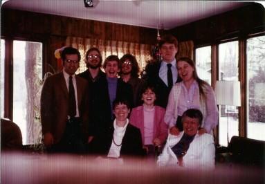 Full Family Christmas 1981