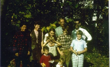 Full Family Oct-Nov 1970 Ohio