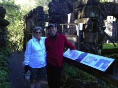 Nancy & Paul at Wolf House